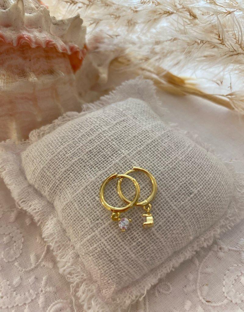 SMALL EARRINGS DIAMOND