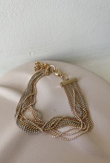 BRACELET WITH MULTI-CHAINS