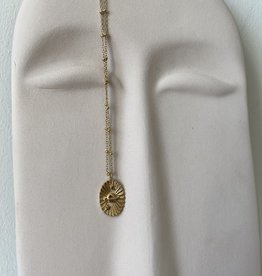 NECKLACE WITH  PLANET PENDANT