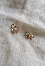 SMALL EARRINGS WITH BEADS