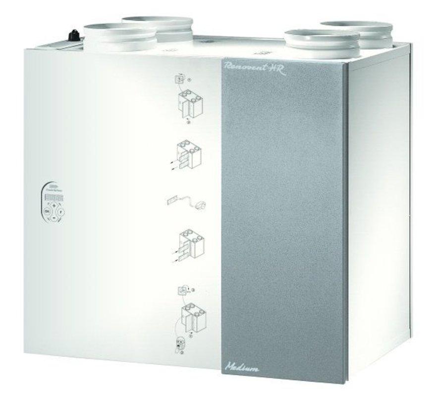 Brink Renovent HR 250/325 M&L met bypass |  M6 Pollenfilter | 535026