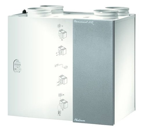 Brink filtershop Origineel Brink Renovent HR 250/325 M&L  | met bypass | 531286