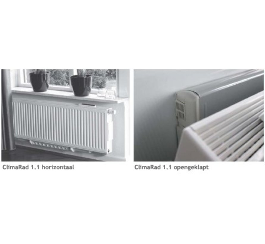 ClimaRad 1,0   1,1 horizontaal    air exhaust filters   3594801
