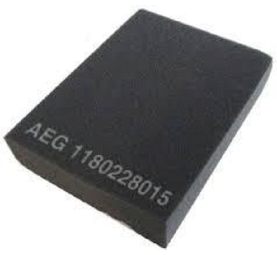 AEG  filter sponge - dust holder 1180228015