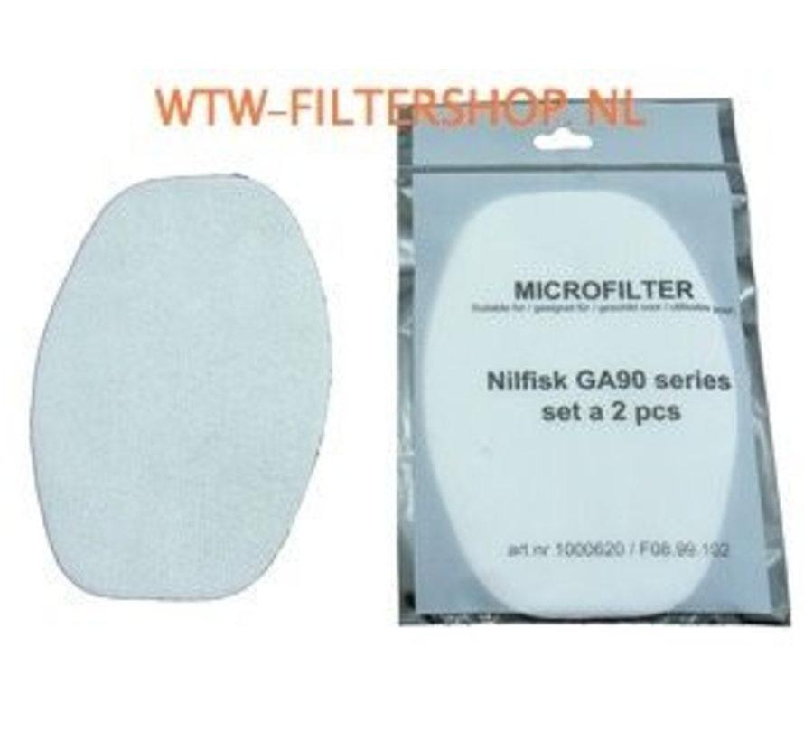 NILFISK GA90 filter - 5620