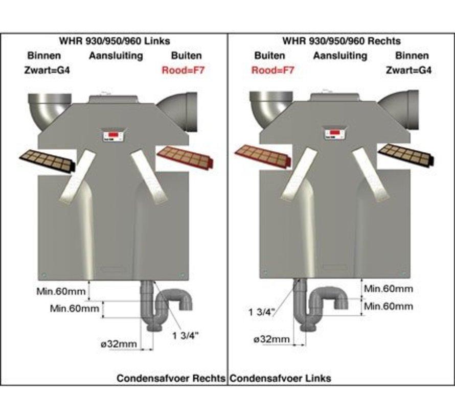 Zehnder ComfoAir 350 / 500 / 550 | G4/F7 | 400100084