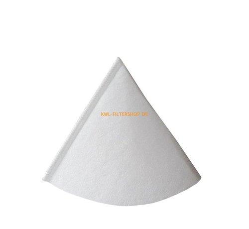 hq-flilters Kegelfilter voor afzuigventiel DN 150 - Klasse G4