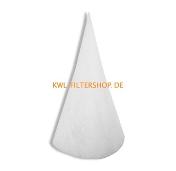 hq-flilters Kegelfilter für Saug-Spalte DN 200 - 300mm lang Klasse G4