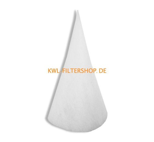 hq-flilters Conefilter for suction column DN 250 - 300mm long Klasse G4