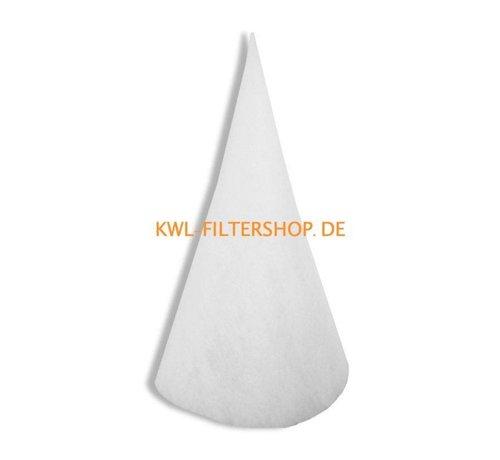 hq-flilters Kegelfilter für Saug-Spalte DN 200 - 600mm lang Klasse G4