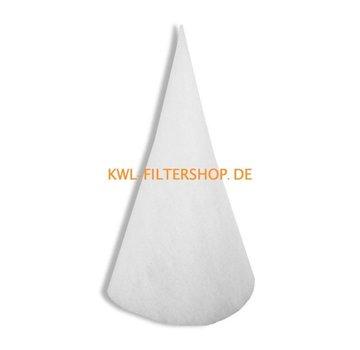 hq-flilters Kegelfilter für Saug-Spalte DN 250 - 600mm lang Klasse G4