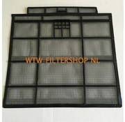 Panasonic Panasonic CWD1137 air filter (left).