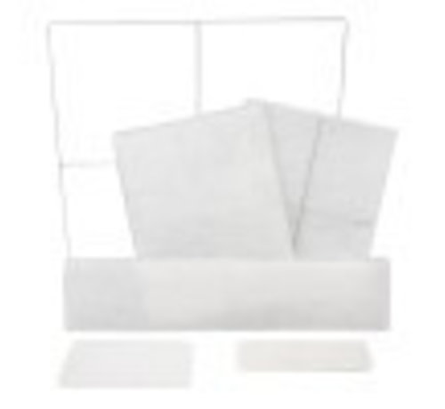 hq-filters  Wire frame filter 500 x 500 mm  - 10002