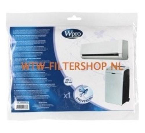 Universeel filter voor luchtreiniger (290 x 460 mm) AFI106 WPRO 484000008643