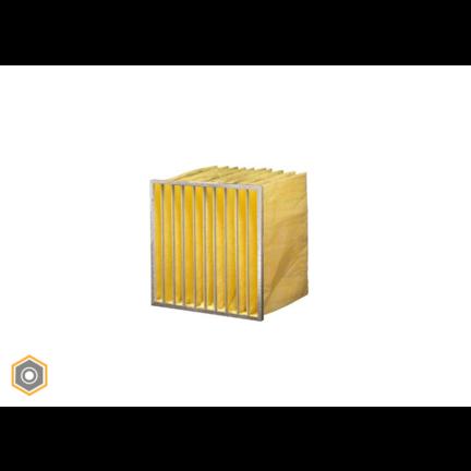 Synthetische Taschenfilter aus eigener Herstellung F8 - ePM2,5 70%