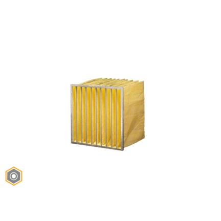 Synthetische zakkenfilters van eigen fabrikaat F8 - ePM2,5 70%