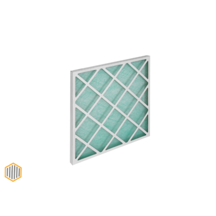 Fiberglass panel filters G2 - G3