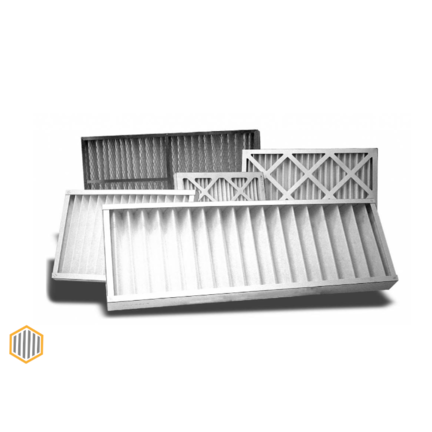 Paneelfilter Kartonnen frame Serie PFK - G4