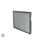 Panel filter metal frame Series PFM - G2 - F7