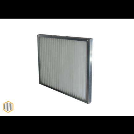 Paneelfilter metalen frame Serie PFM - G2 - F7