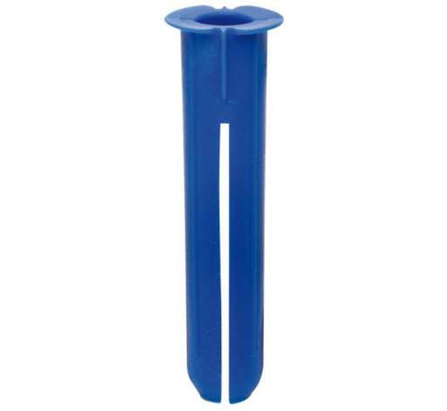 Plug blauw 10mm lang 50mm Thorsman Schneider (100 stuks)