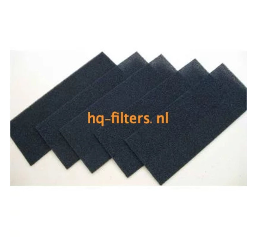 Biddle air filters for air curtain types CA L-250-F