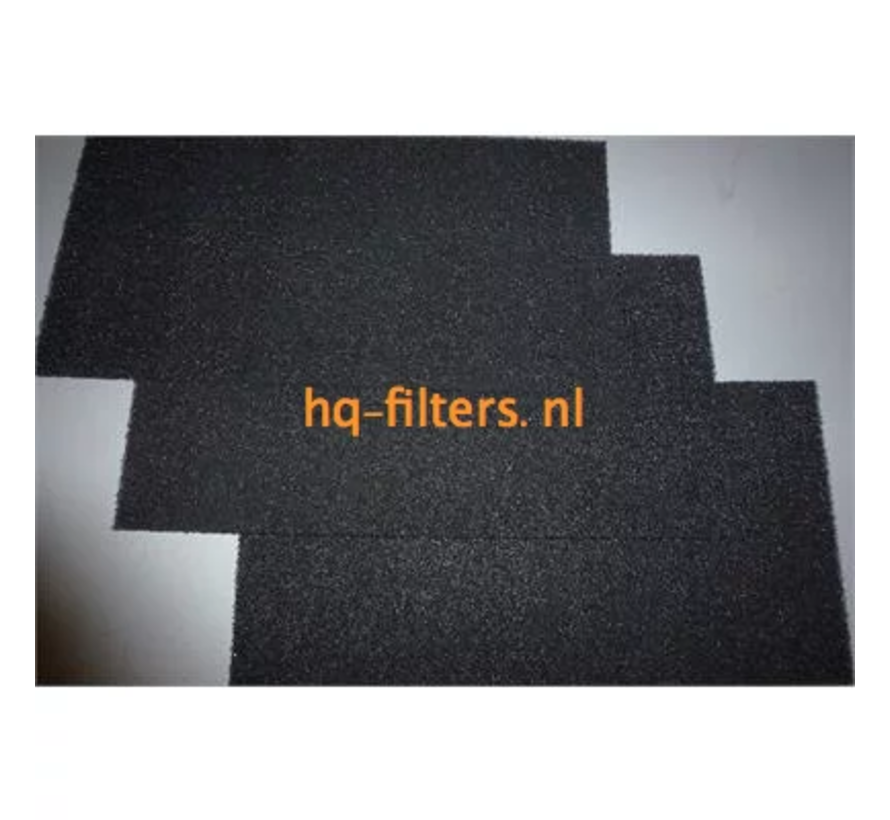 Biddle luchtgordijn filters type CA S/M-150-F.