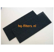 Biddle filtershop Biddle air curtain filters type CA L/XL-100-F.