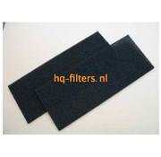 Biddle filtershop Biddle Luftschleierfilter Typ CA L/XL-250-R / C