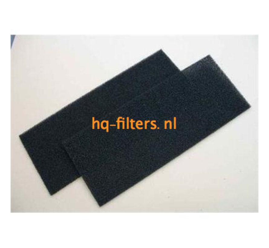 Biddle luchtgordijn filters type K/M 100-FU
