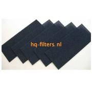 Biddle filtershop Biddle Luftfilter für Luftschleier Typ SR S / M-250-F