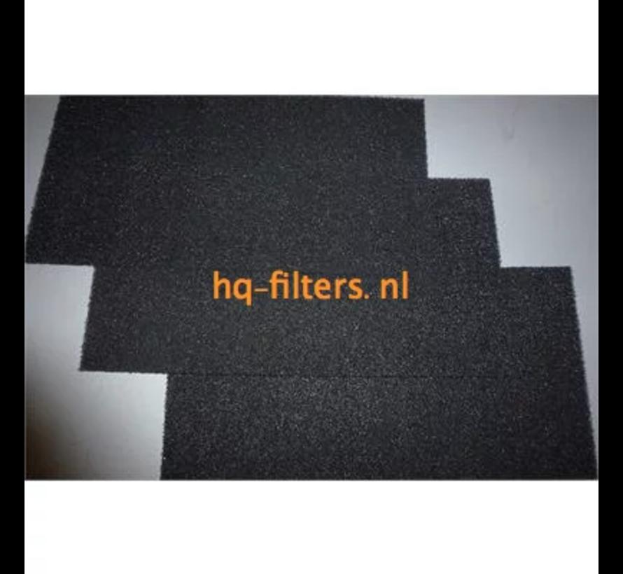 Biddle luchtgordijn filters type SR L / XL-150-F