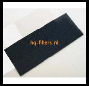 Biddle filtershop Biddle Luftschleierfilter Typ SR S / M-100-R / C