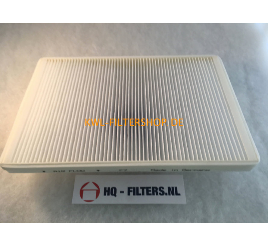 Replacement air filter for ELF-KWL 200/300/7