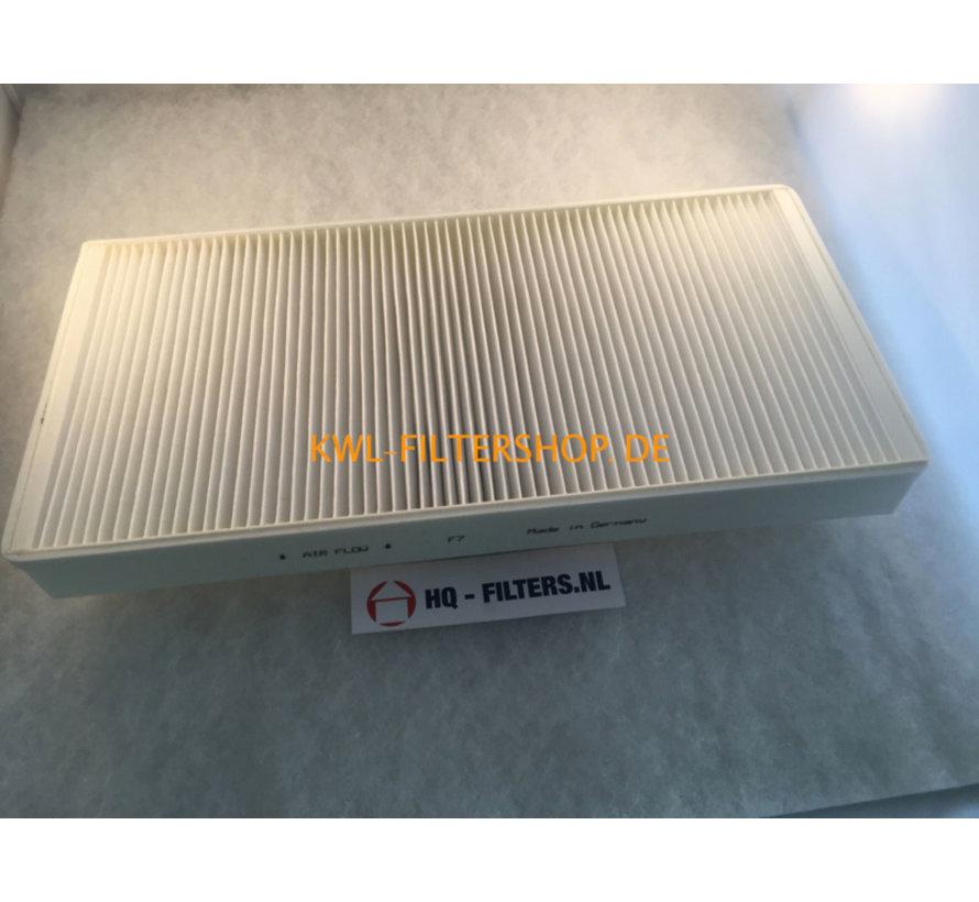 Replacement air filter for ELF-KWL EC 500/7