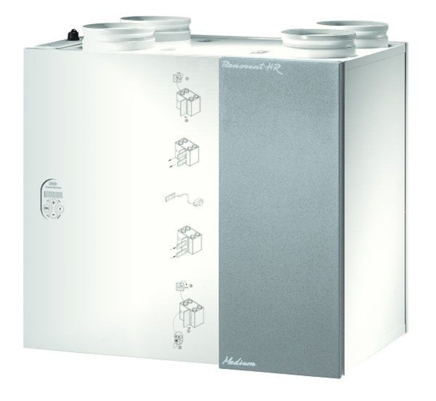 Brink Renovent HR 250/325 medium large | - M6 Pollenfilter | 40202