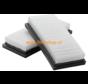 Nilfisk Attix 30 / 40 / 50  Flachfilter 302002842 | NF0097