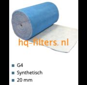 hq-filters WTW Filter cloth G4-1 x 20 meter x 20 mm