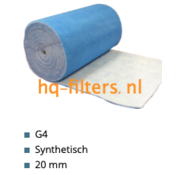 hq-filters WTW Filterdoek G4 - 1 x 20 meter x 20 mm