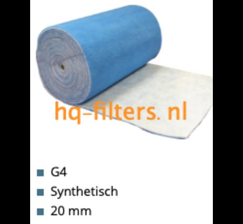 hq-filters WTW Filterdoek G4 - 1 x 20 meter x 20 mm - 51104