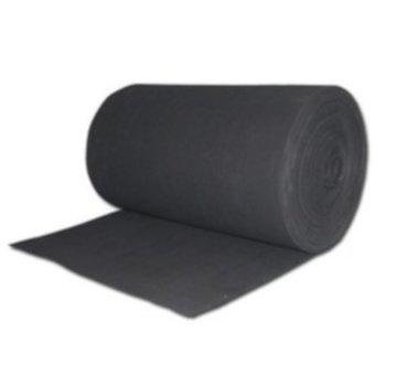 WTW Filterdoek G3 - zwart - 700 x 2000 x 5mm