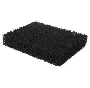 Aktiv carbon-Matte 1000x1000x12 mm