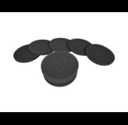 Pluggit filtershop Bulprenfilter schwarz - EVFGB -( Set mit 10 Pc )