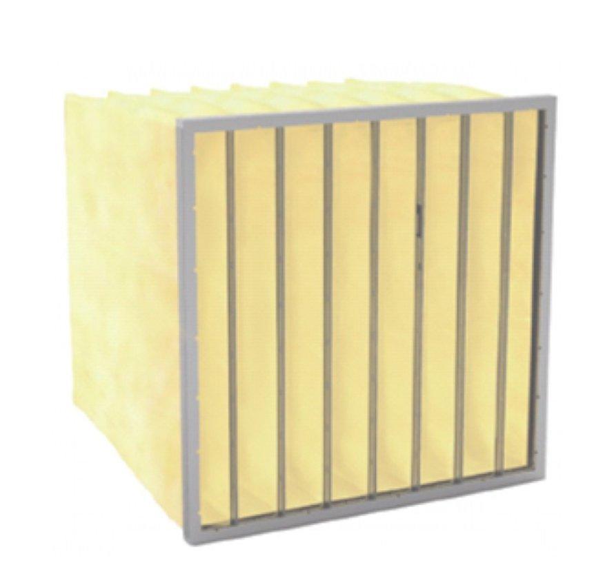 Bag filter F9 - 300 - 500 - 600 mm