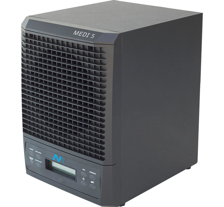 Air purifier MEDI 5 with UV-C technology