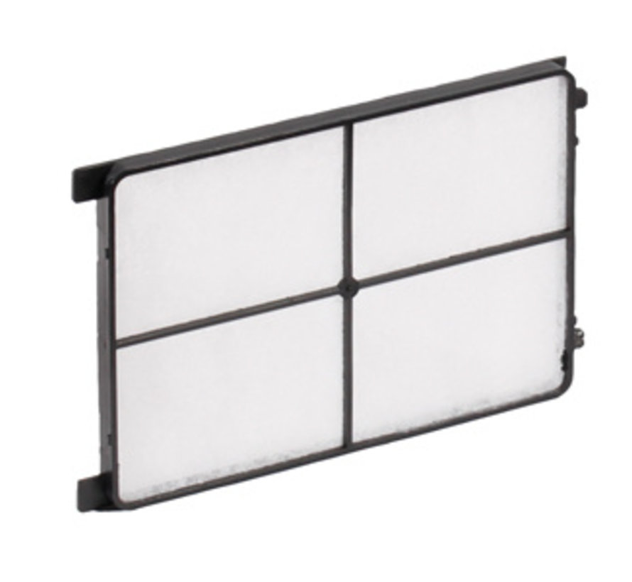 Zehnder cover grille CLD / CLD-P - white - 10 pieces