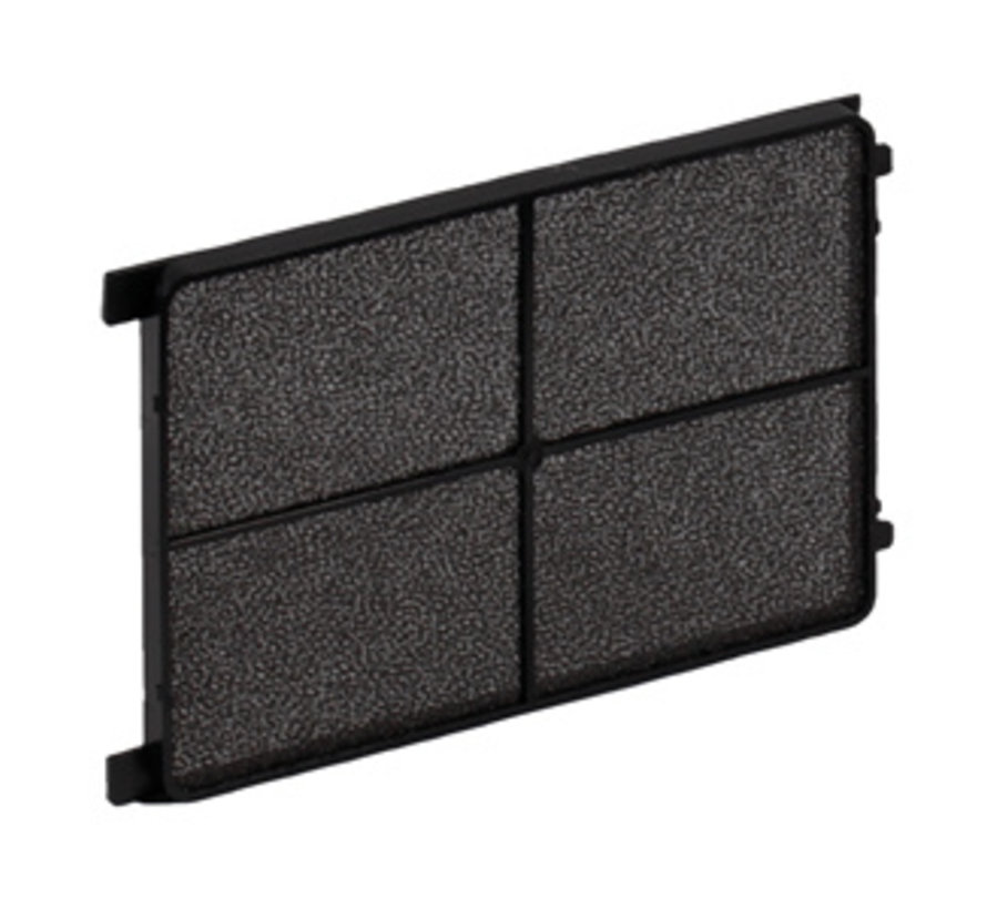 Zehnder cover grille CLD / CLD-P - black- 10 pieces
