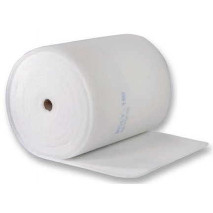 Ceiling filters on a roll or cut to size