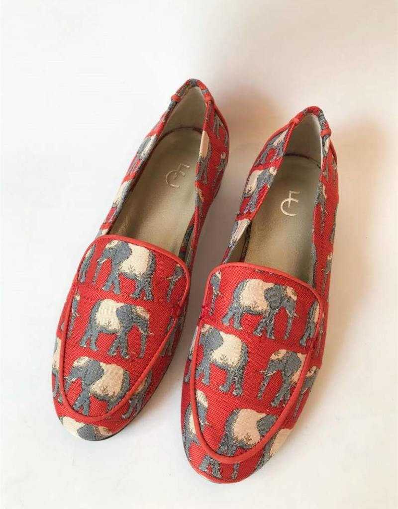 Fabienne Chapot  Hayley loafer olifant