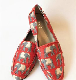 Hayley loafer olifant